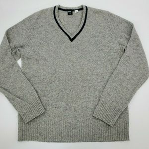 Bdg Urban Outfitters sweater v neck wool varsity L